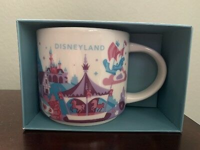 Disney Parks Disneyland Fantasyland You Are Here Starbucks Mug