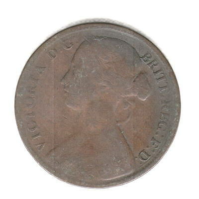 1861 British Penny Nice Early Date