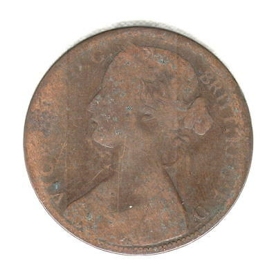1862 British Penny Nice Early Date