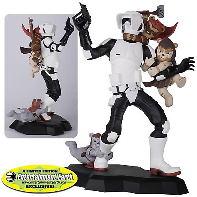 2012 GG EE Exclusive: Star Wars - Scout Trooper (Ewok Attack) Animated Maquette