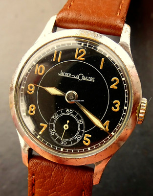 Jaeger-LeCoultre Cal.463 Military WW2 Britisch Army Officer Men's Watch 1940