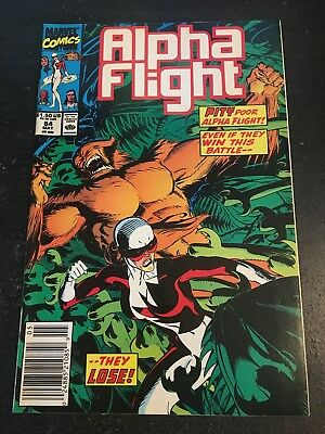 Alpha Flight#84 Incredible Condition 9.2(1990)