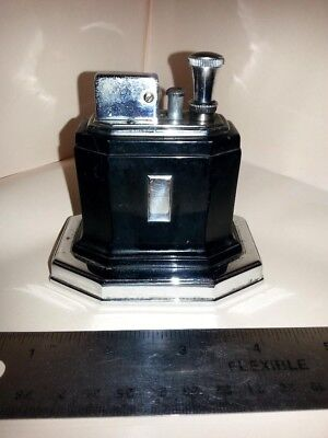 "Vintage Ronson rare ""TOUCH TIP OCTETTE"" art deco Lighter 1930-40"