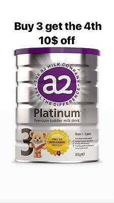 a2 Platinum Premium toddler milk Stage 3 Buy3 Get The Forth 10$ Off