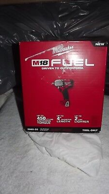 New Milwaukee 2860-20 M18 1/2 in Cordless Mid Torque Impact Wrench w/ Pin Detent
