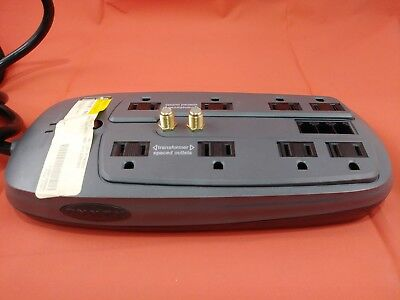 Dynex DX-S114221 Surge Protector | 8 Outlets | 15A 125V AC 50/60 Hz