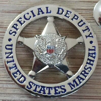 "USMS - US Marshals Service ""SPECIAL DEPUTY"" version Lapel Pin"