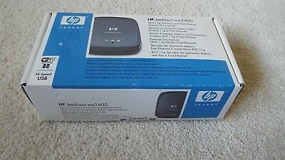 Excellent HP J7951A JETDIRECT EW2400 802.11g WIRELESS EXTERNAL PRINT SERVER