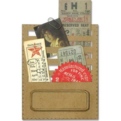 Sizzix Thinlits Die by Tim Holtz ~ STITCHED SLOTS ~ 662697