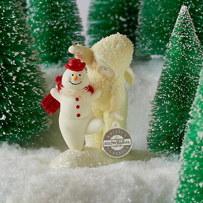 Dept 56 Snowbabies 2018 Give It A Wirl, Snowman #6002846 NIB FREE SHIP 48 STATES