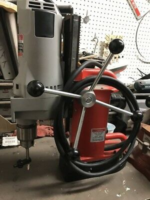 """Milwaukee 4202 3/4"""" Electromagnetic Mag Magnetic Drill Press w/ 4262-1 Motor"""