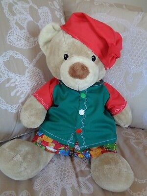 Clothes to fit boys Build a bear and Pumpkin Patch teddy Xmas shirt/ shorts set