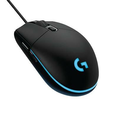 Logitech G203 Black Mouse Prodigy Programmable RGB Wired Gaming Mouse