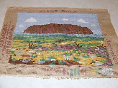 Completed Tapestry - Ayers Rock