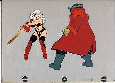 Taarna and the Barbarian Cel Art and animators drawing