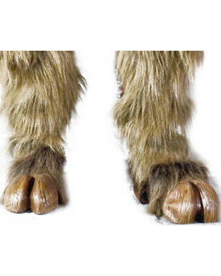 Brown Beast Hooves For Adults One Size