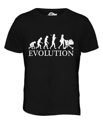 Shopper Evolution Mens T-Shirt Tee Top Giftshopping Trolley