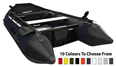 NORTH SEA 380 3.8m Premium Inflatable Boat | German Materials,Thermowelded Tubes