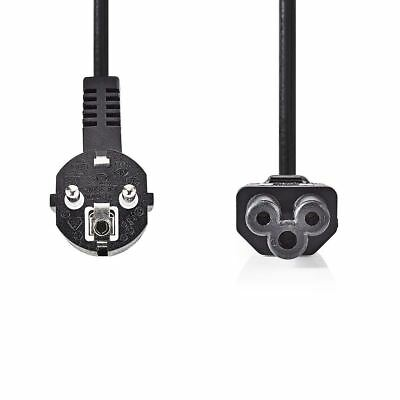 Nedis Power Cable Schuko Male Angled to IEC-320-C5 5m Black CEGP10100BK50