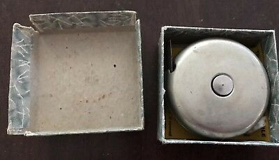 Rabone Spring Rule with sliding top. Nos 350, 6 feet.Small Metal Tape Measure