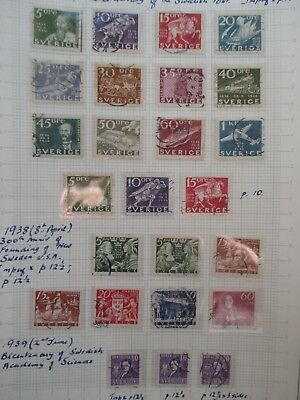 Sweden Stamps - Small Collection.