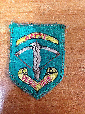 Very Rare & Original AATTV Patch - Australian Army Training Team Vietnam -