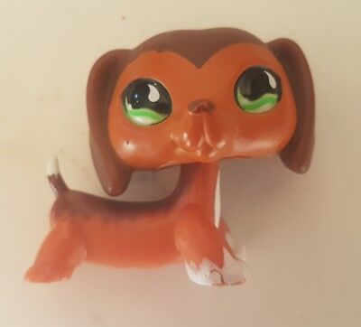 figurine petshop chien dog teckel rare #0675
