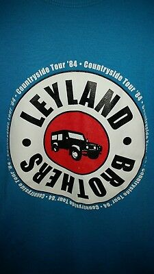 Vintage, retro, ORIGINAL SIZE SMALL  Leyland Brothers T-SHIRT
