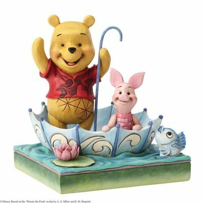 Disney Traditions 50 Years of Friendship Winnie the Pooh & Piglet Figurine