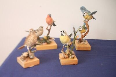 Country Artists Hand Painted Hand Crafted Bird Figurines