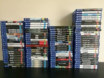 Playstation 4 - PS4 Games #1 **Pick From Your Favourite TITLES** - FREE SHIPPING