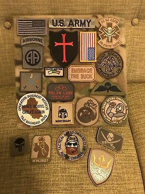 Morale Patch Multicam Display Board