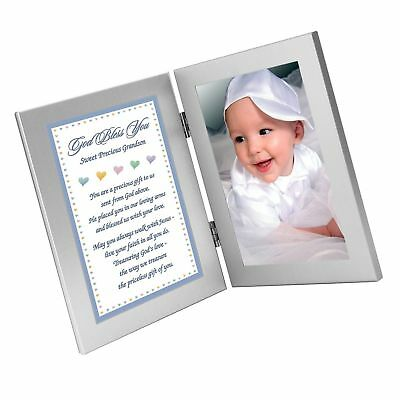 s Add Photo New Baby or Grandson Baptism Gift from Grandparent