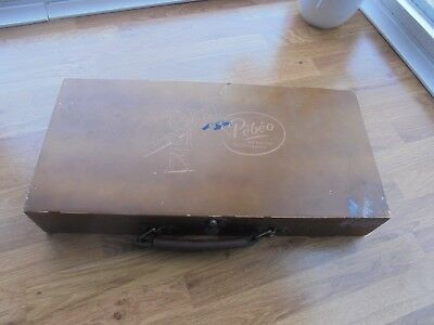 Vintage French Wooden Artist Carry/travel Box Pebeo