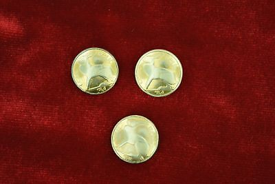 """Three Pieces - Solid Sterling Suit Jacket/Sport Coat/Blazer Button Set """"3 Pence"""""""