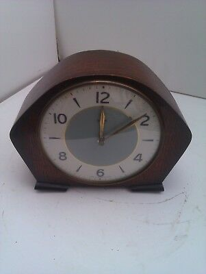 An Old Chiming Mantle Clock With A Floating Balance Movement In  Fwo