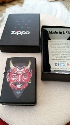 A Used Zippo Lighter