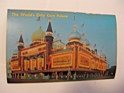 Vintage World's Only Corn Palace Mitchell S.d. Postcard ~ See All Our Postcards