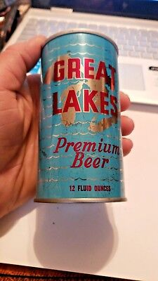 """""""Great Lakes Brew. Co., South Bend, IN""""  Pull Top Beer Can"""