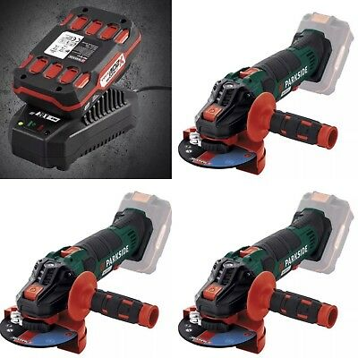 Parkside Pwsa 20 Li B2 Cordless Angle Grinder+Battery & Charger Worldwide🚚