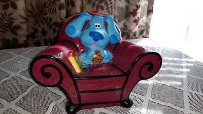 COOKIE JAR BLUES CLUES Thinking Chair Notebook Nick Jr., used, no box