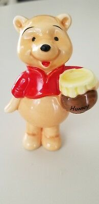 Vintage Disney Ceramic Pooh bear Figure from Winnie the Pooh Made In Japan