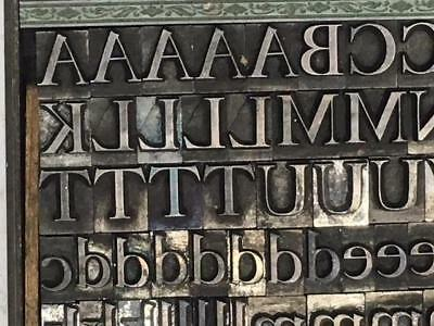 30 Point Caslon Old Style H.C. Hansen Hard Foundry Type