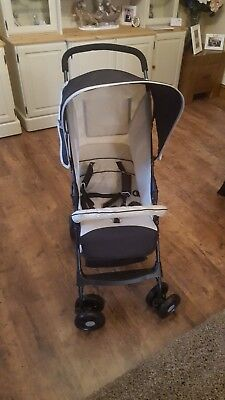 Hauck Sport Buggy Almond and Black Pushchairs Single Seat Stroller