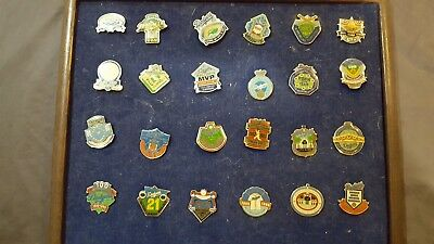 24 Los Angeles Dodgers Pins or Pinback Collection