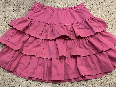 HANNA ANDERSSON Three Tiers Scooter Skirt Skort PINK Size 160 14-16