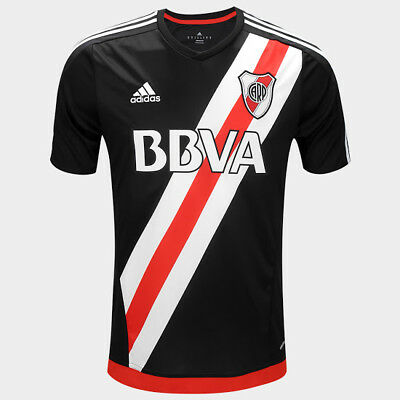 2016-2017 River Plate 4th Football Shirt, Argentina, Adidas, BNWT Large Just £15