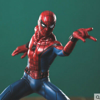 """7"""" Marvel Spider-Man:Homecoming 3D Model PVC Statue Figure Action Toy Gift"""