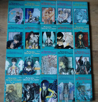 Angel Sanctuary Mangas 1 - 20 (komplette Serie)