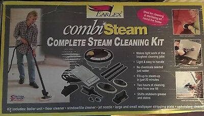 EARLEX Combi SC165 Steam Complete Steam Cleaning Kit